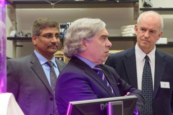 Energy secretary visit