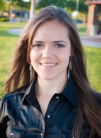 ASU engineering student Daniela Panfil