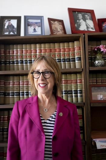 Patience Huntwork is a staff attorney at the Arizona Supreme Court and a board member at The College's Melikian Center.