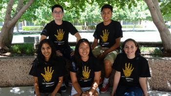 Summer Project Humanities interns