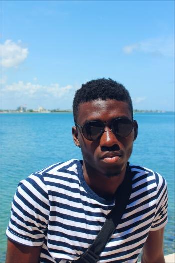 Photo of graduate architecture student Olufela Joda