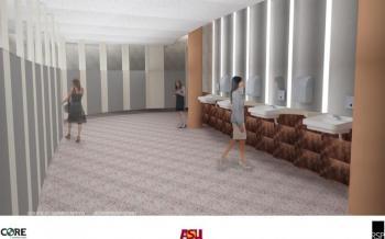 ASU Gammage restrooms