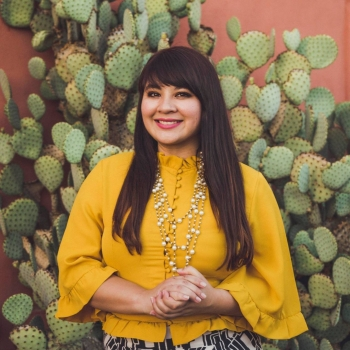 ASU alumna Reyna Montoya will be honored for her growing legacy of community activism empowering Arizona families touched by immigration issues during The College Leaders event in November.