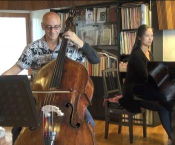 Catalin Rotaru playing Bottesini double bass
