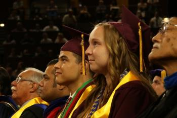 Samantha Hill is named Outstanding Graduate from the School of Social Work