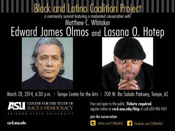 Black and Latino Coalition Project flyer