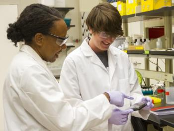 Haynes making proteins to fight cancer
