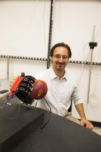 Marco Santello robotic hand
