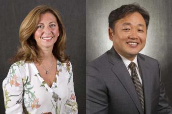 portraits of ASU engineers Anna Scaglione and Gail-Joon Ahn