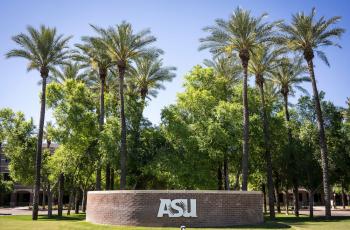 ASU Campus Sign