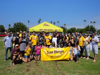 San Diego Sun Devil Send-Off 2011