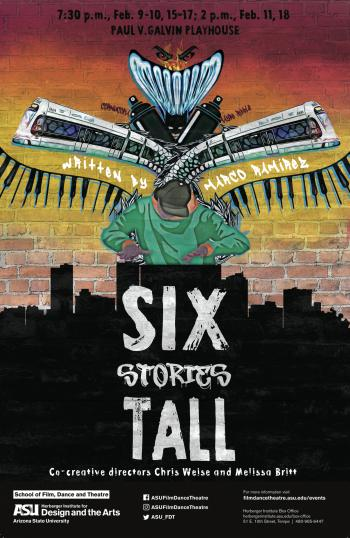 "Poster image for ""Six Stories Tall."""
