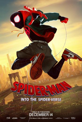 Poster of Spider-Man: Into the Spider-Verse movie