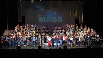 Bernstein Mass cast