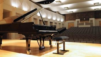 Piano in Katzin Concert Hall