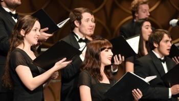 ASU choir singing