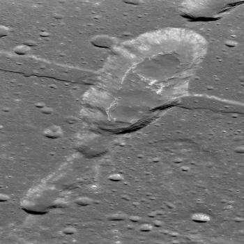 Sosigenes IMP is a site of geologically recent volcanic eruptions on the moon