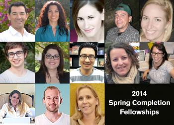 2014 Spring Graduate Completion Fellows