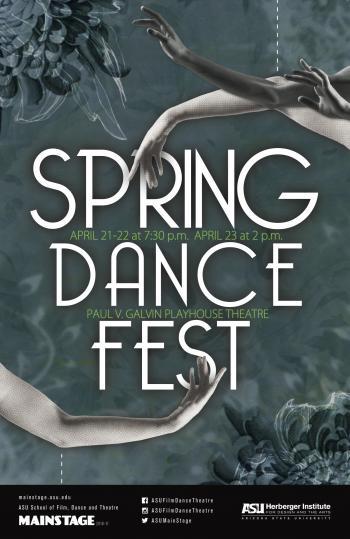ASU's SpringDanceFest poster