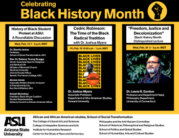 Black History Month Events 2021