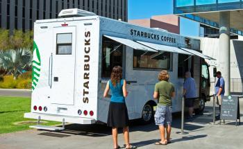 Starbucks truck