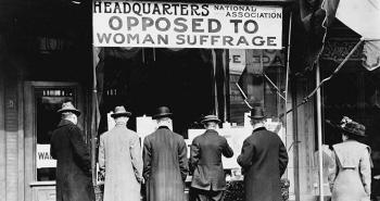 Headquarters of the National Association Opposed to Woman Suffrage