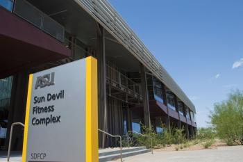 exterior of Sun Devil Fitness Complex Poly