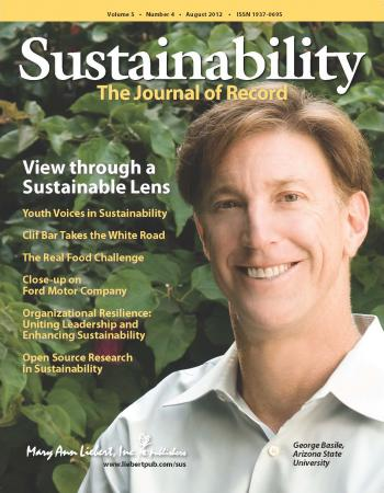 Cover image of Sustainability: The Journal of Record