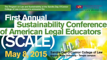 inaugural Sustainability Conference of American Legal Educators