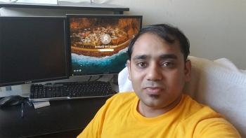 SMS graduate student Swarup Dey