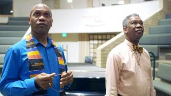 two men in documentary film
