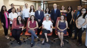 photo of Tecnologico de Monterrey visitors and ASU Law