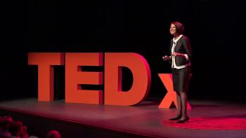 ASU Professor, Danielle McNamara giving a TEDx talk