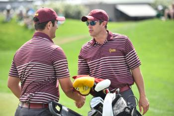 Arizona State men's golf coach Tim Mickelson