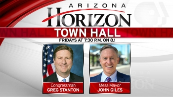 Arizona Horizon Town Hall airs Fridays at 7:30 on Arizona PBS