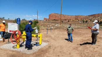 Water systems training for Navajo Nation utility workers