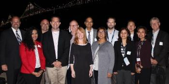 Group photo of recipients of PeopleSoft Innovator recognition