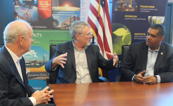 U.S. Virgin Islands representatives meet leaders at ASU