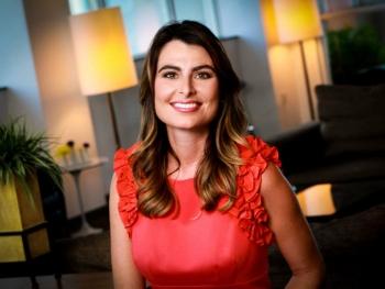 PBS Anchor and Cronkite professor Vanessa Ruiz portrait