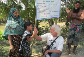 VEGA volunteer in Bangladesh