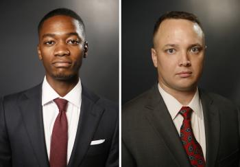 Christopher Senn (Left) and Conner Pursell (Right)