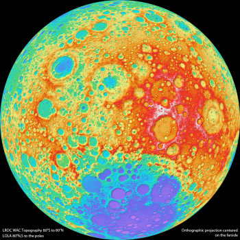 Color Shaded Relief
