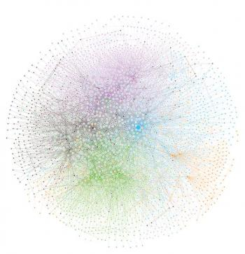 Network representation of global biochemistry