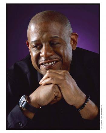 portrait of actor Forest Whitaker