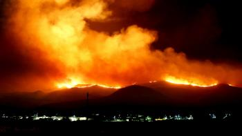 photo of wildfire