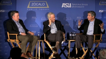 Arizona State University, President Michael Crow, Sir Malcom Grant, Dr. Denis Cortese