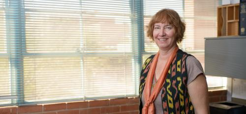 portrait of ASU College of Letters and Sciences instructor Lori Eshleman