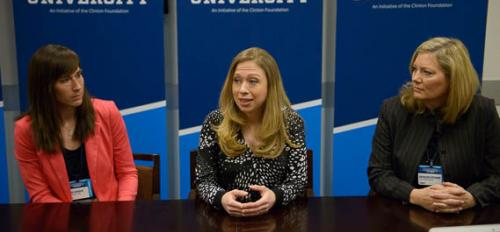Chelsea Clinton and two ASU students speak at CGI U