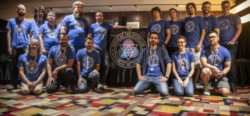 ASU faculty and other members of the organizing team at DEF CON 27, 2019