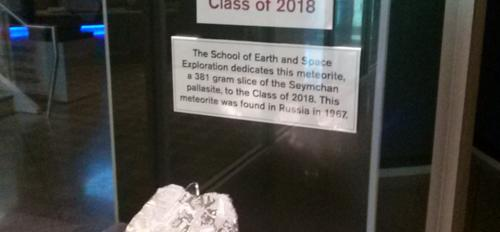 Class of 2018 meteorite